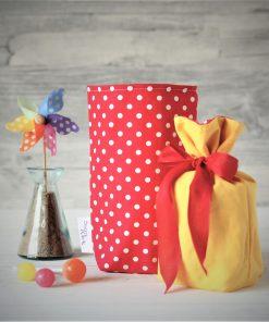 Geschenkbeutel Polka dots