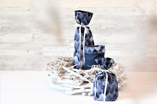 Geschenkbeutel Oriental Blue