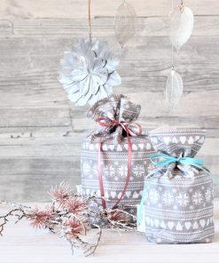 Geschenkbeutel Weihnachten Winterliebe