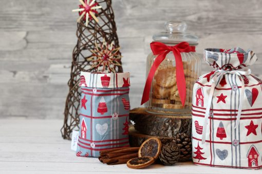 Geschenkbeutel Weihnachten Hygge Christmas