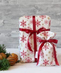 Geschenkbeutel Weihnachtsstern