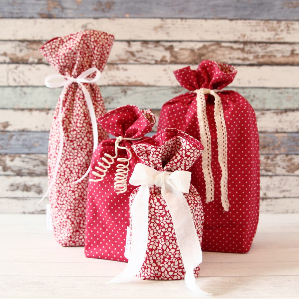 Stoff Geschenkbeutel Starterset