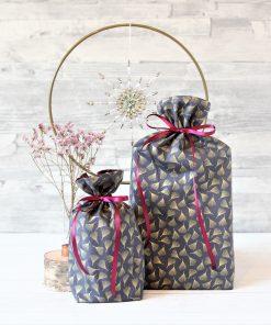 Geschenkbeutel Purple Stars