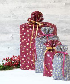 Geschenkbeutel Purple Christmas